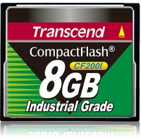 Transcend Industrial Ultra Compact Flash 8GB Tarjeta (200x)