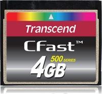 Transcend CFast  4GB Tarjeta