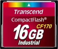 Transcend CF170 Compact Flash 16GB Tarjeta