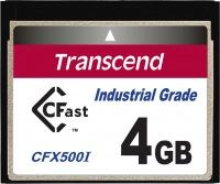Transcend Industrial Temp CFast 4GB Tarjeta