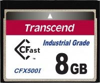 Transcend Industrial Temp CFast 8GB Tarjeta