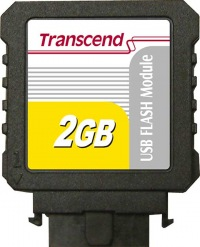 Transcend IDE Industrial USB Vertical 2GB Módulo