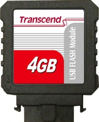 Transcend IDE Industrial USB Vertical 4GB Módulo