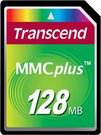 Transcend MultiMedia Tarjeta Plus 128MB Tarjeta