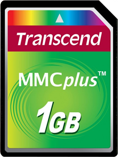 Transcend MultiMedia Tarjeta Plus 1GB Tarjeta