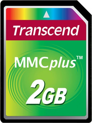 Transcend MultiMedia Tarjeta Plus 2GB Tarjeta