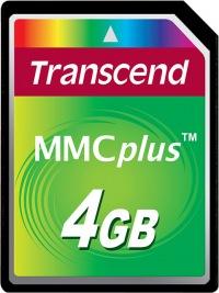 Transcend MultiMedia Tarjeta Plus 4GB Tarjeta